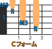 「Cフォーム」コードダイアグラム